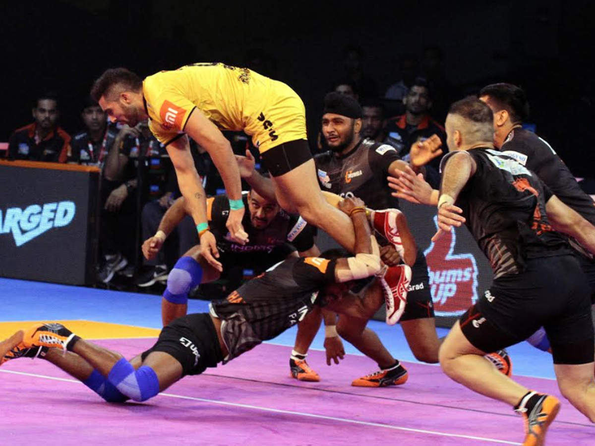 Pro Kabaddi 2018: U Mumba beat Telugu Titans 41-20 in inter-zone match