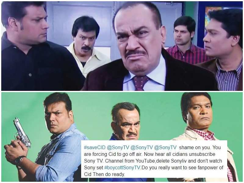 Fans express remorse as 'CID' goes off air