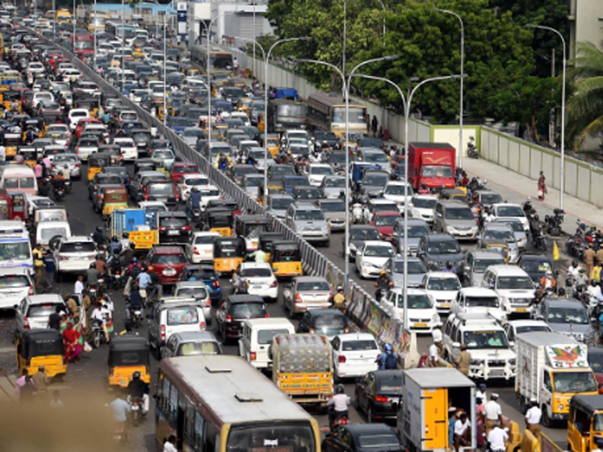 chennai traffic twitter
