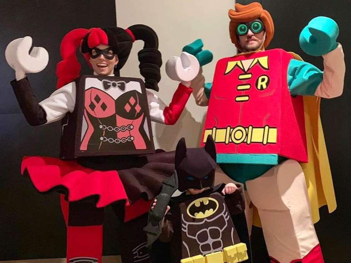justin timberlake and family wore the cutest halloween costumes