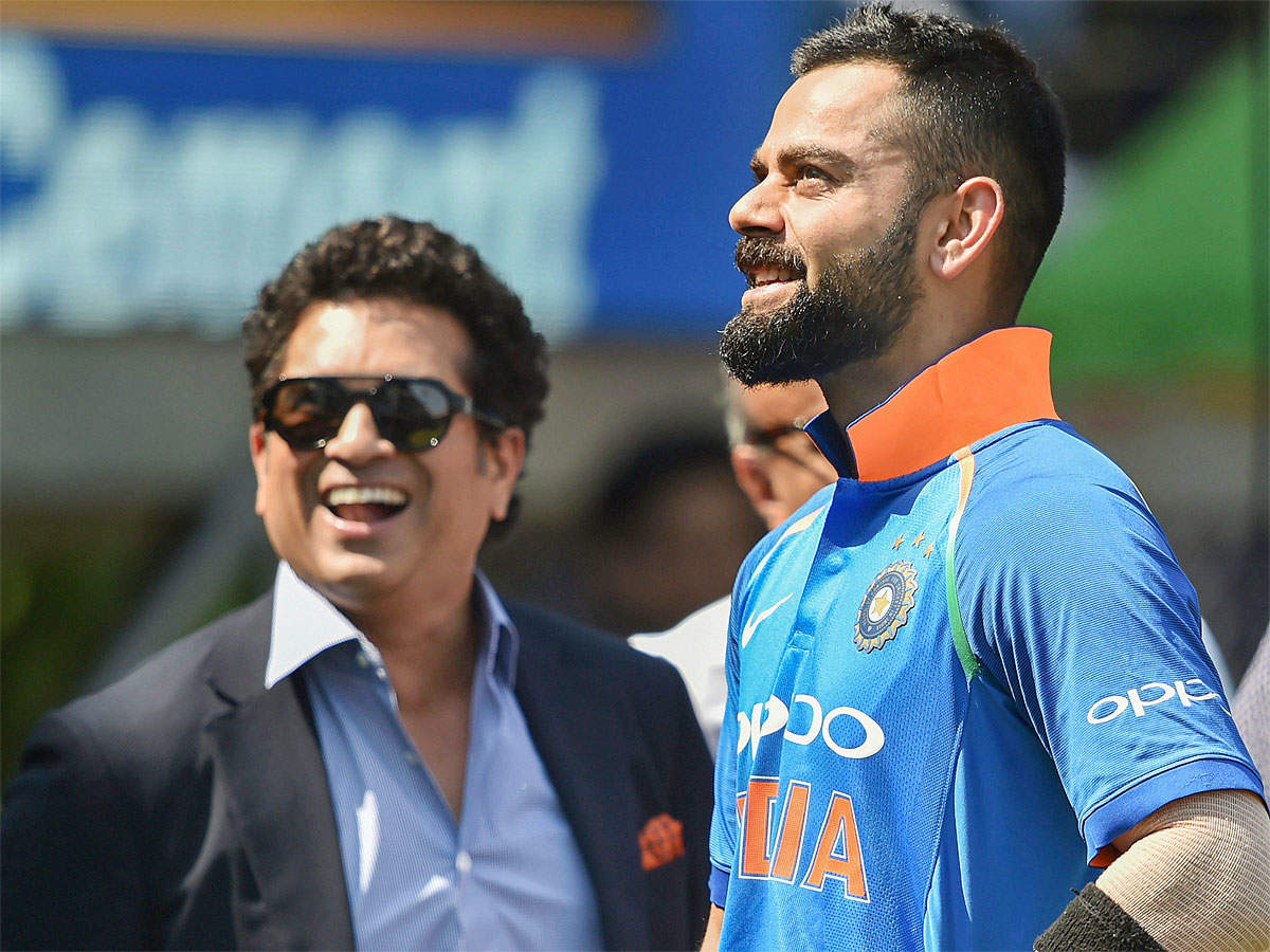 Sachin Tendulkar on comparisons with Virat Kohli: Let's not compare generations | Cricket News - Times of India
