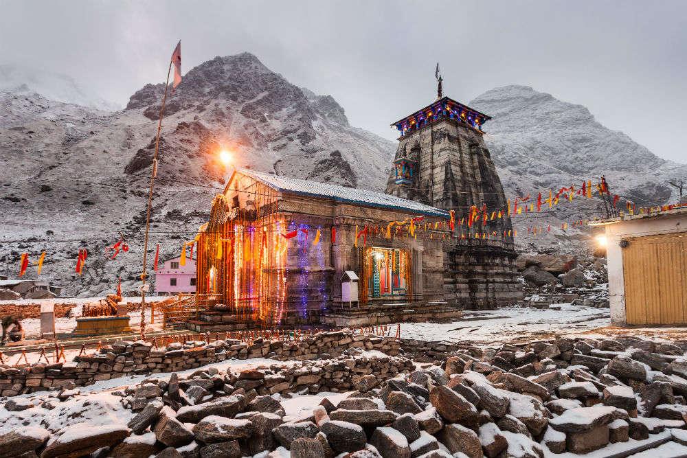Kedarnath temple gets meditation cave, new entrance plaza