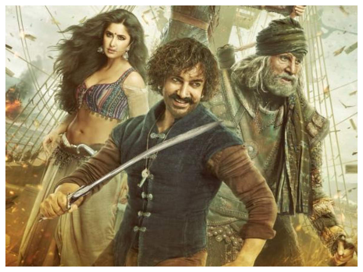 'Thugs Of Hindostan': The film gets leaked online, fans request makers to take action - Times of India