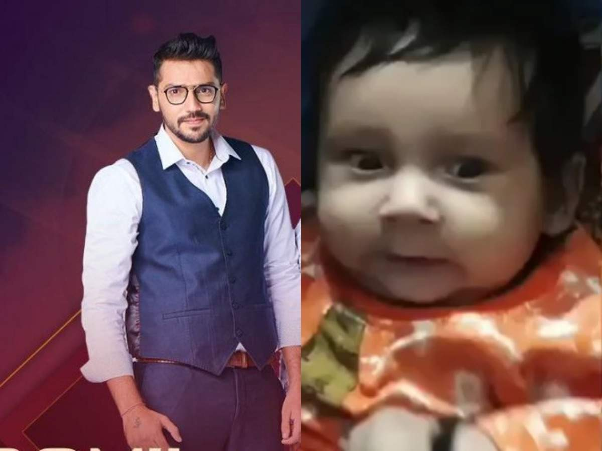 Did Romil Chaudhary sacrifice seeing this adorable video of his son for Somi Khan in Bigg Boss 12? - Times of India