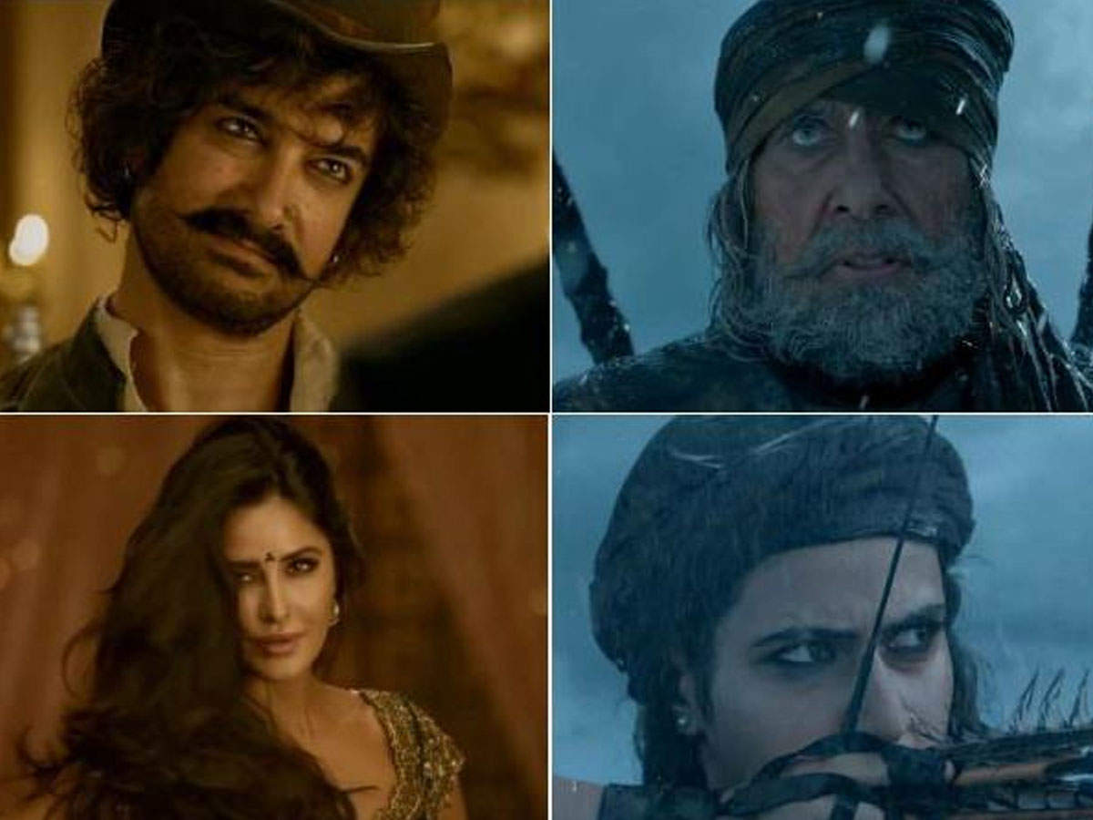 'Thugs of Hindostan' box-office collection Day 1: Aamir Khan, Amitabh Bachchan and Katrina Kaif starrer earns Rs 50 crore; becomes top first-day grosser - Times of India