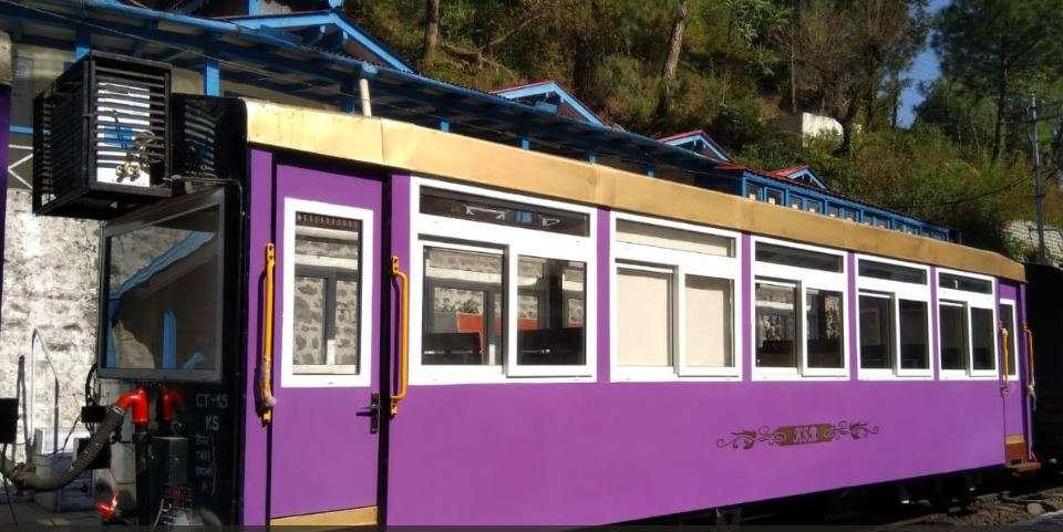 The popular Kalka-Shimla rail gets its first glass-roof Vistadome coach