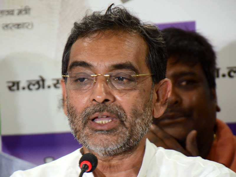 Kushwaha attacks Kumar looking for an appointment with Amit Shah