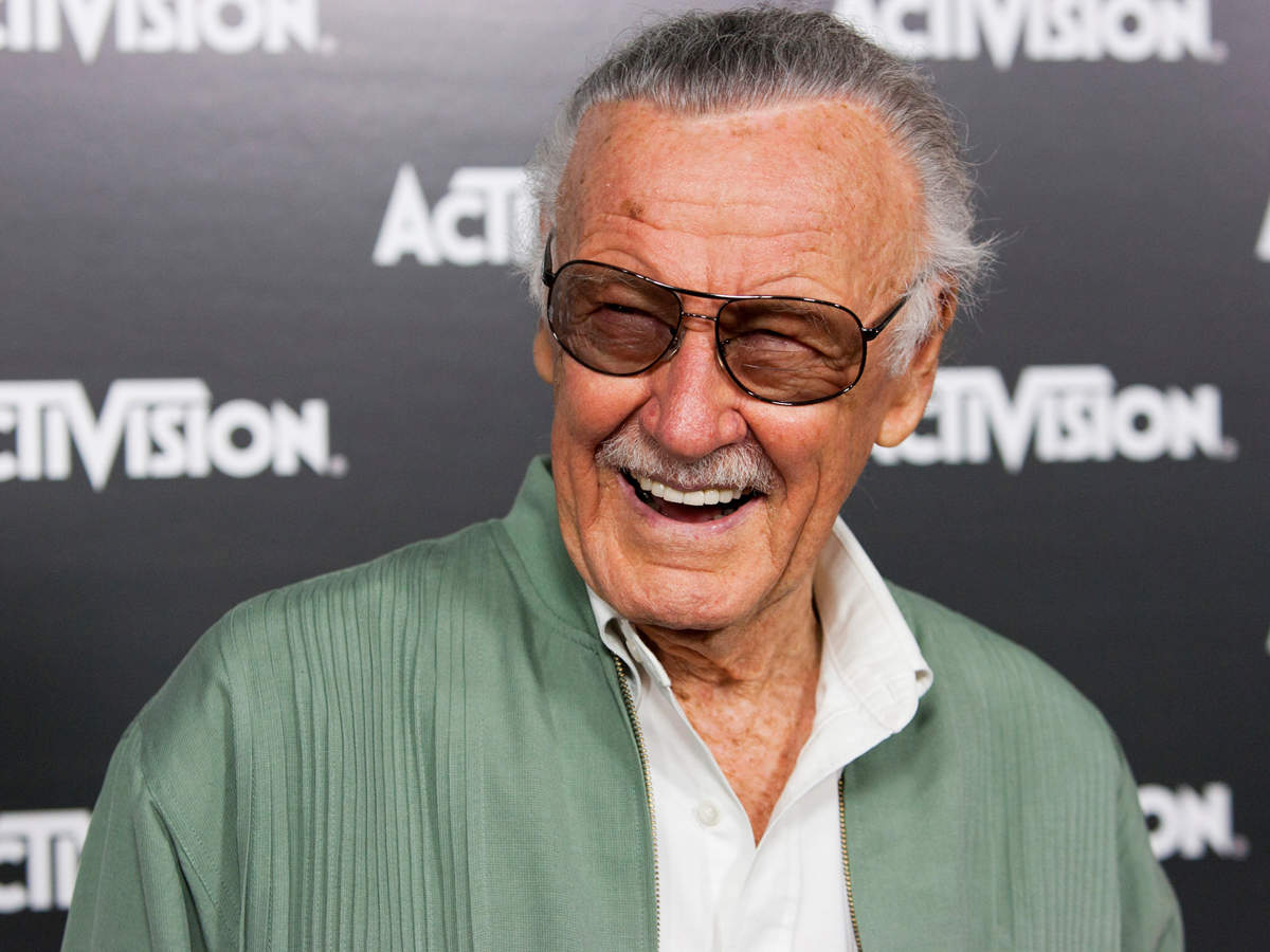 Stan Lee Creator Of Spider Man And Other Marvel Superheroes Dead Iron Circuit Superhros Comics Logostore At 95 English Movie News Times India