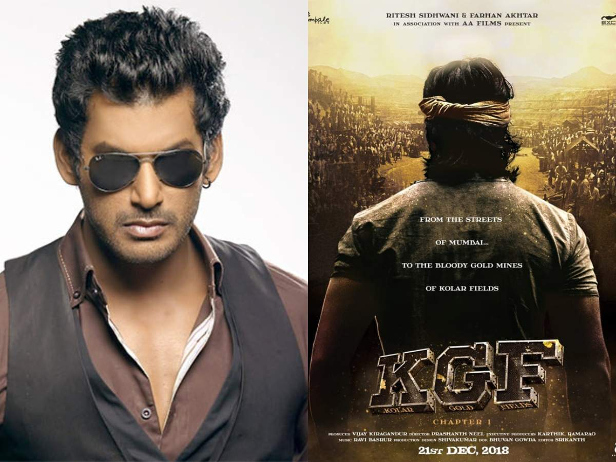 Vishal Krishnas Vff To Release Yashs Kgf Tamil Movie News