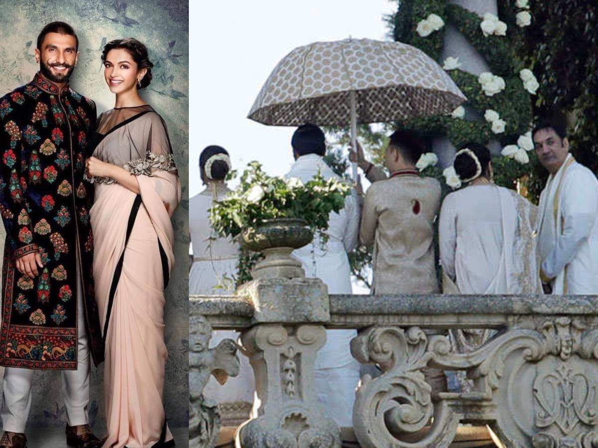 Latest pictures of Ranveer Singh and Deepika Padukone's wedding - Times of India ► thumbnail
