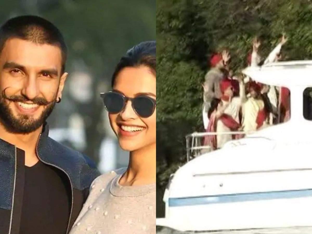 Deepika Padukone and Ranveer Singh wedding: Ranveer Singh entered to Anil Kapoor and Govinda's 90s hit songs