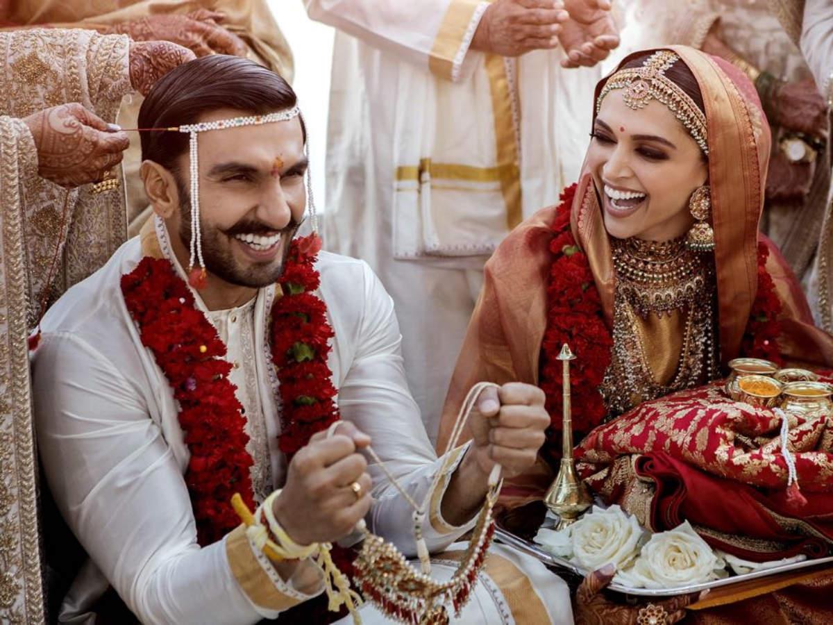 Image result for deepika and ranveer marriage fans celebrated