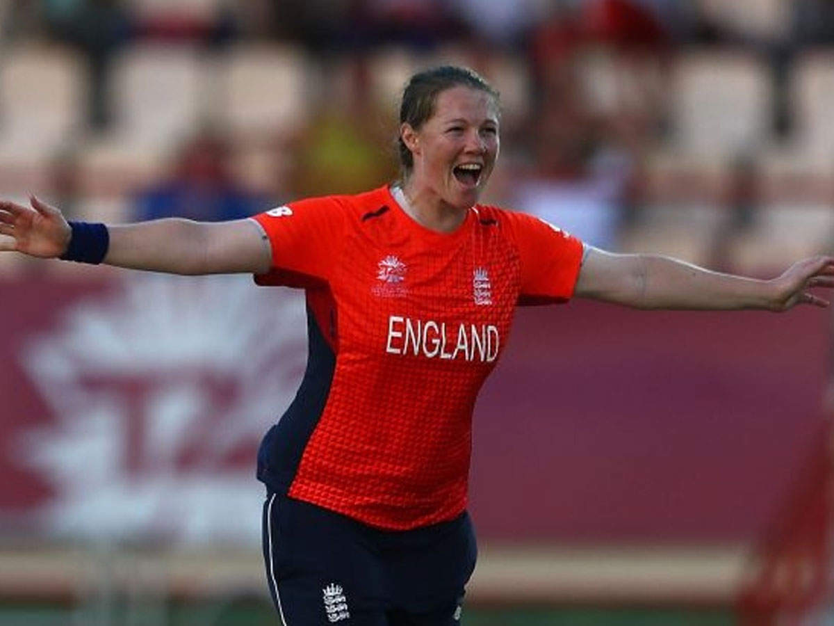 ICC Womens World T20 Anya Shrubsole hat trick helps England beat South Africa with 7 wickets