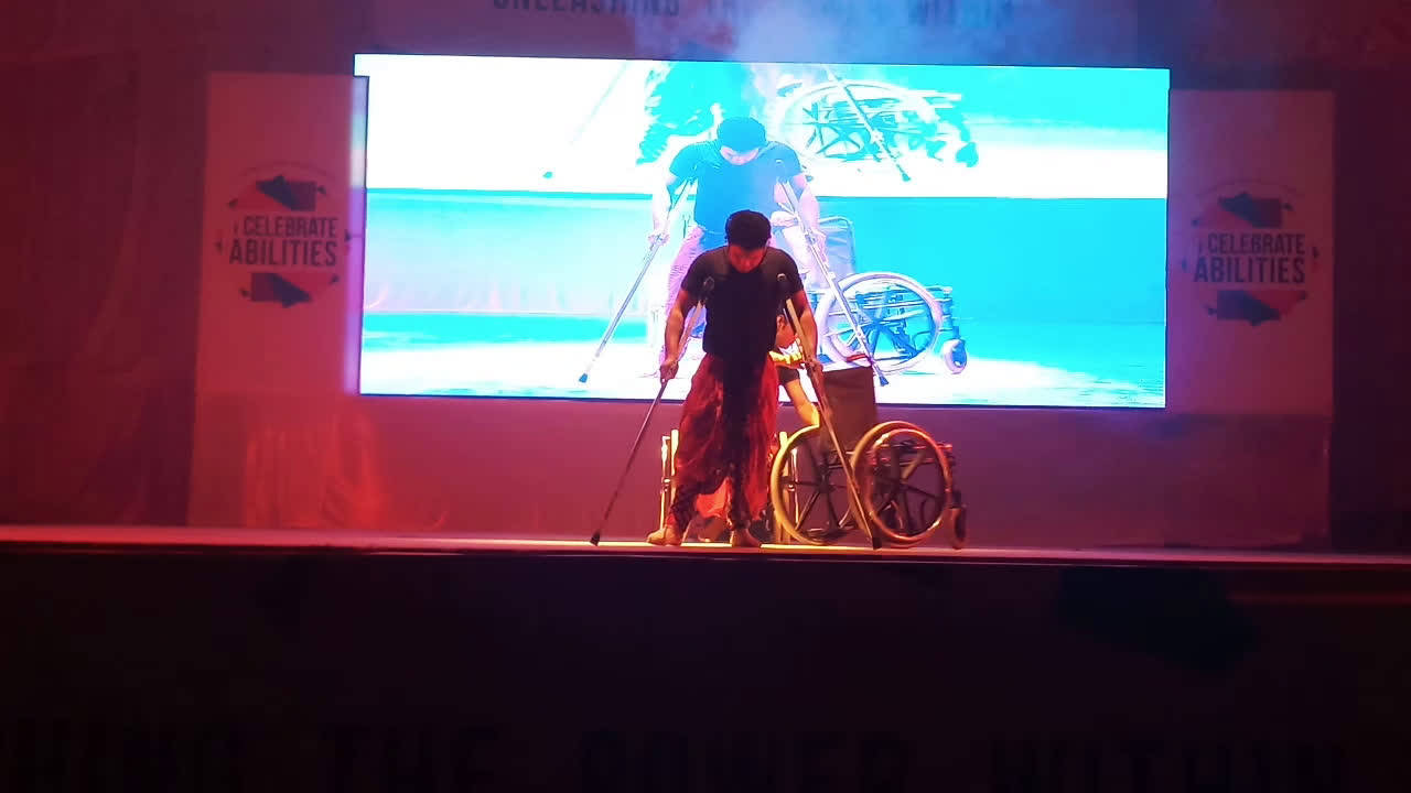 team-miracle-performs-yoga-on-wheel-chair