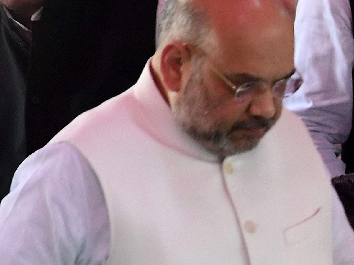 amit-shah-holds-road-show-in-mps-maihar