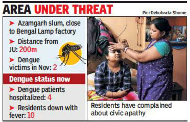 Bengal Lamp residents live in fear as dengue still stalks
