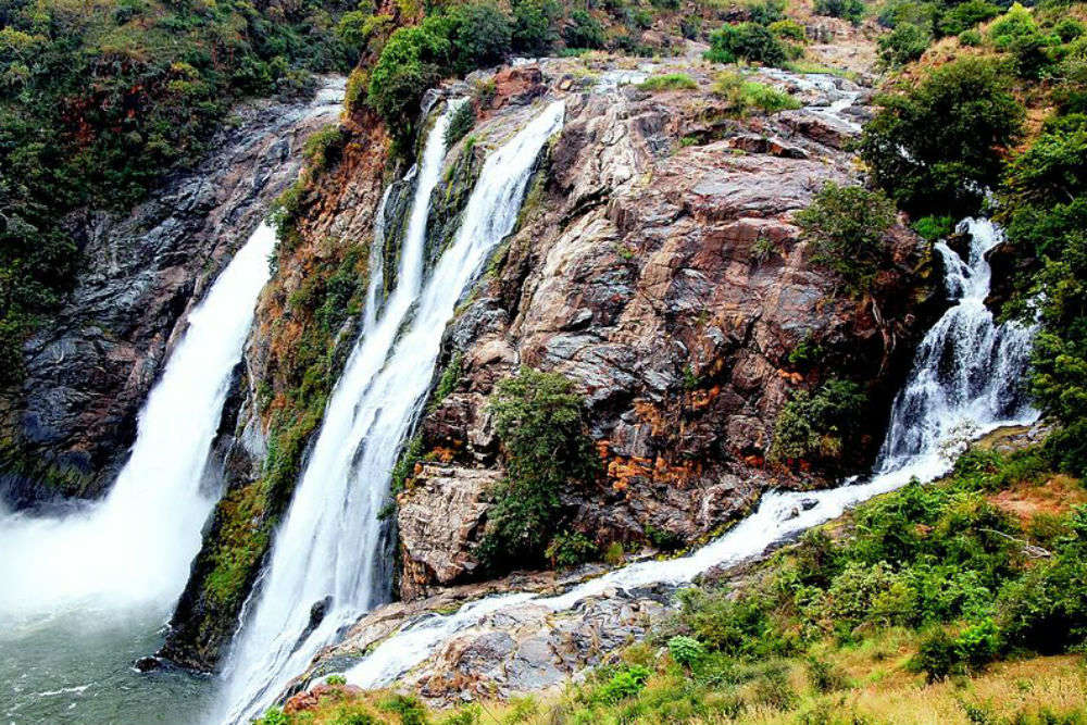 Shivanasamudra waterfalls is the place you need to see in this life