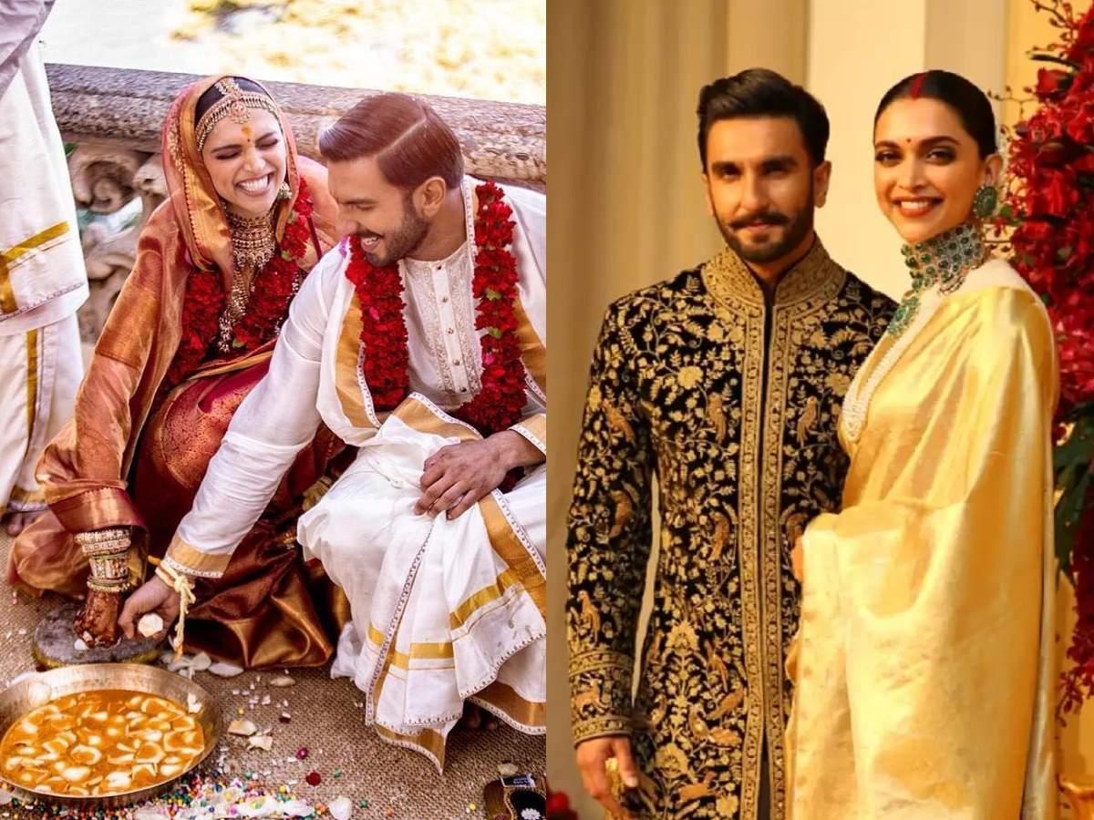 Deepika Padukone And Ranveer Singh Wedding Deepika Padukone S Kanjivaram Saree Carried A Special Symbolism For Her Married Life