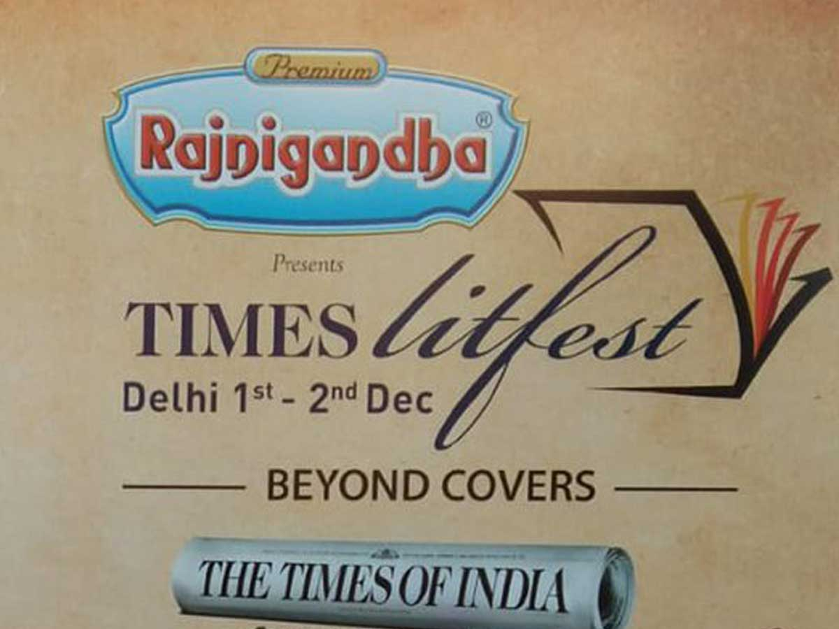 You have been booked for a date with books at Times Litfest Delhi