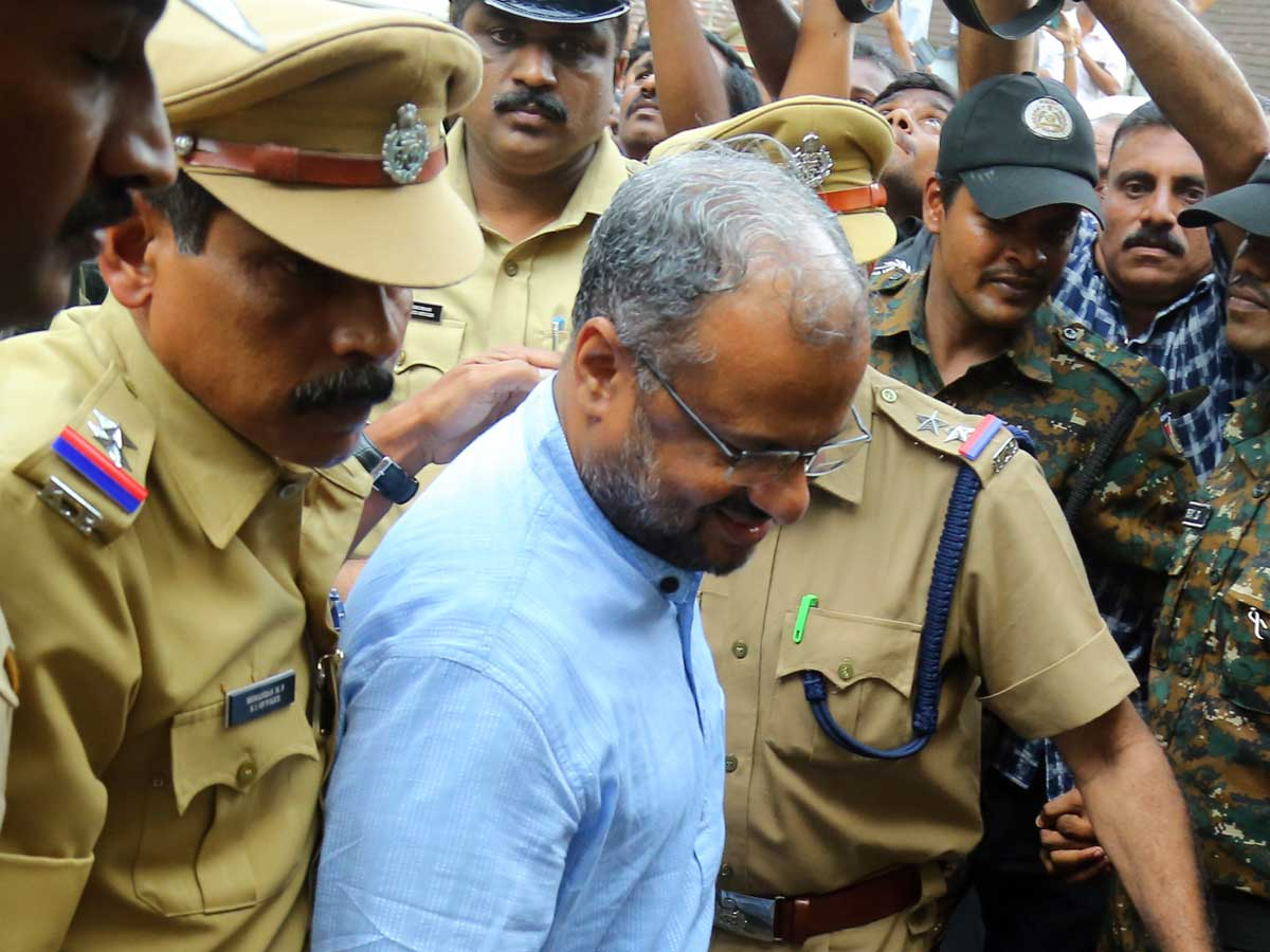 Accused of rape the bishop of Kerala becomes face of church agenda