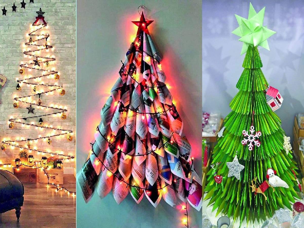 Christmas 2018 Creative Diy Christmas Tree Ideas Easy To Make Christmas Trees At Home