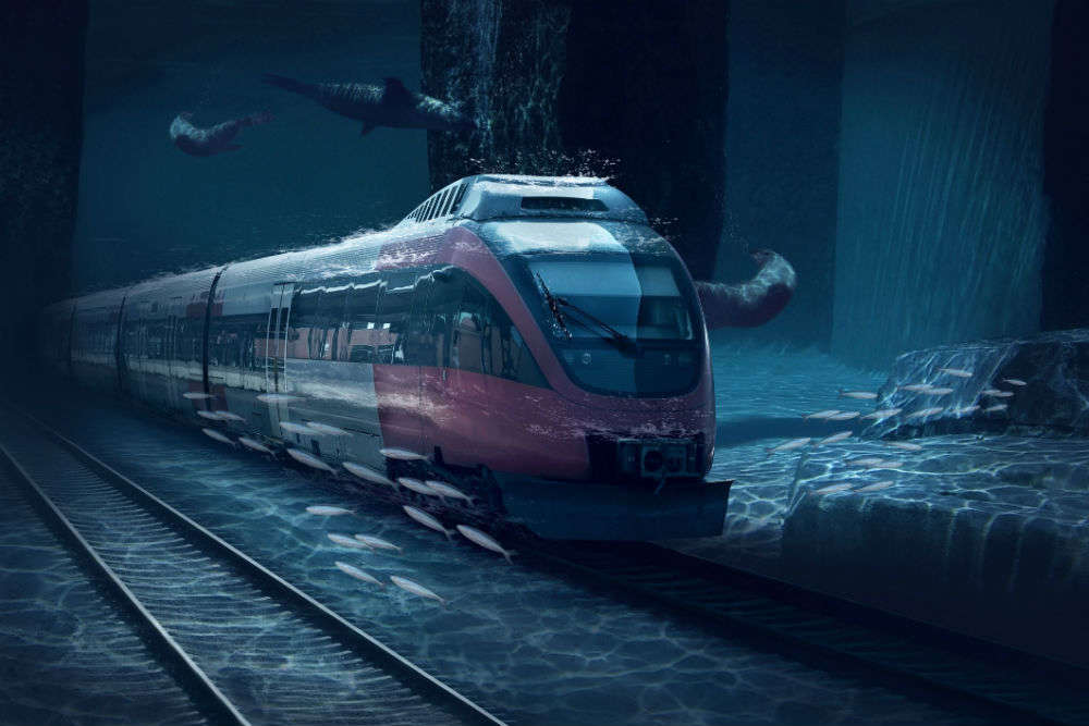 A 2,000-km-long underwater rail will connect Mumbai to the UAE very soon!