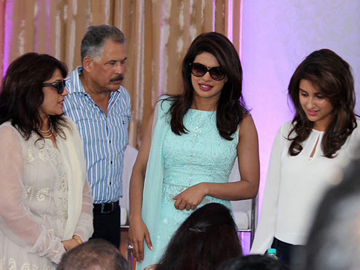 Parineeti Chopra S Parents Call Priyanka Chopra And Nick Jonas S
