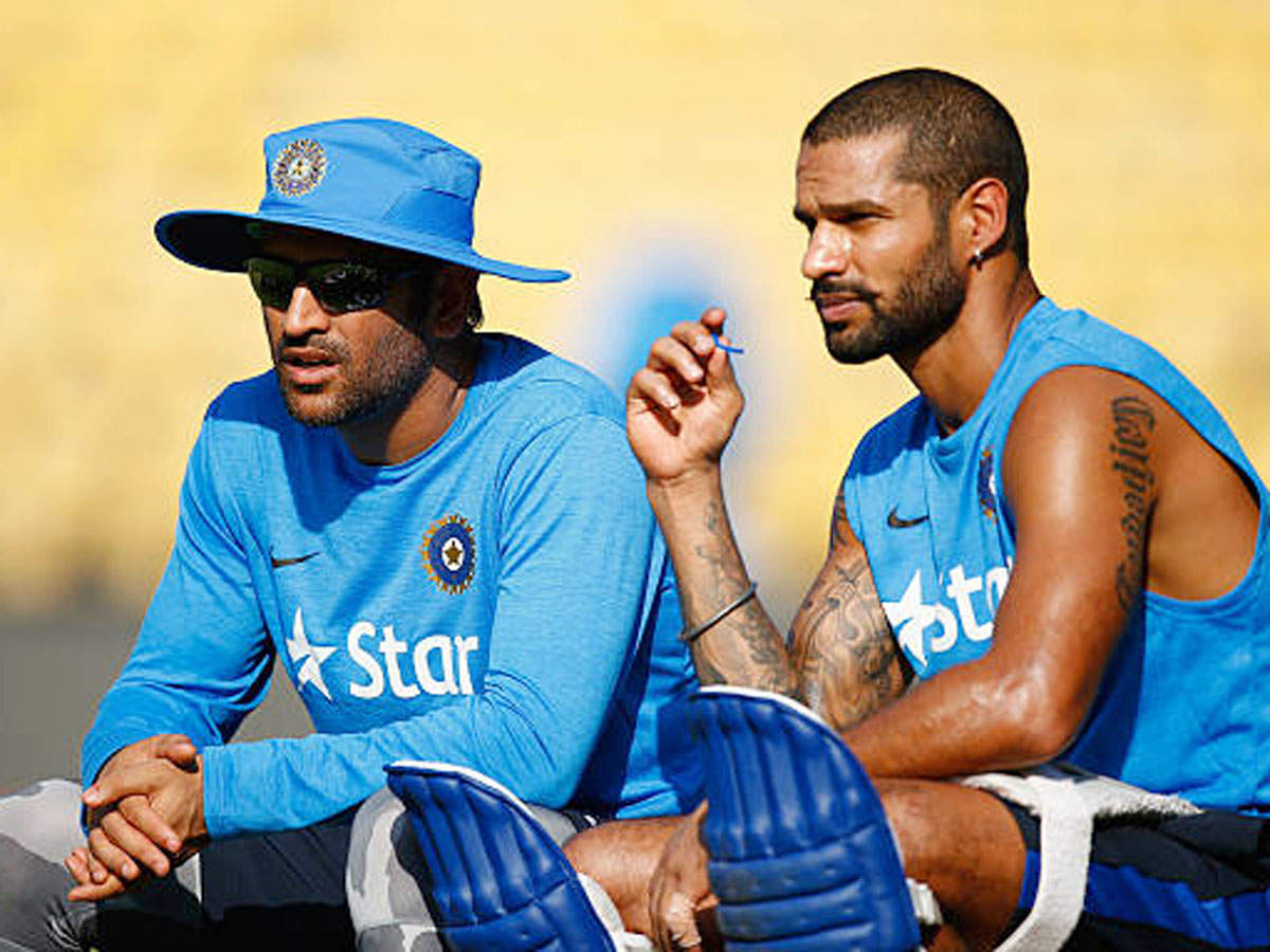 Gavaskar: Why aren't MS Dhoni, Shikhar Dhawan playing domestic ...