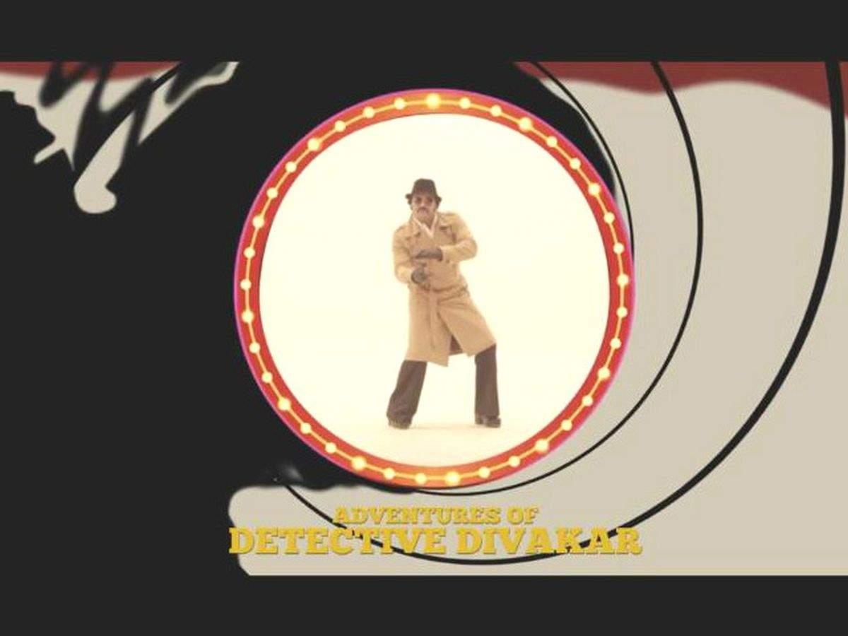 Rishab Shetty inspired by James Bond! - Times of India
