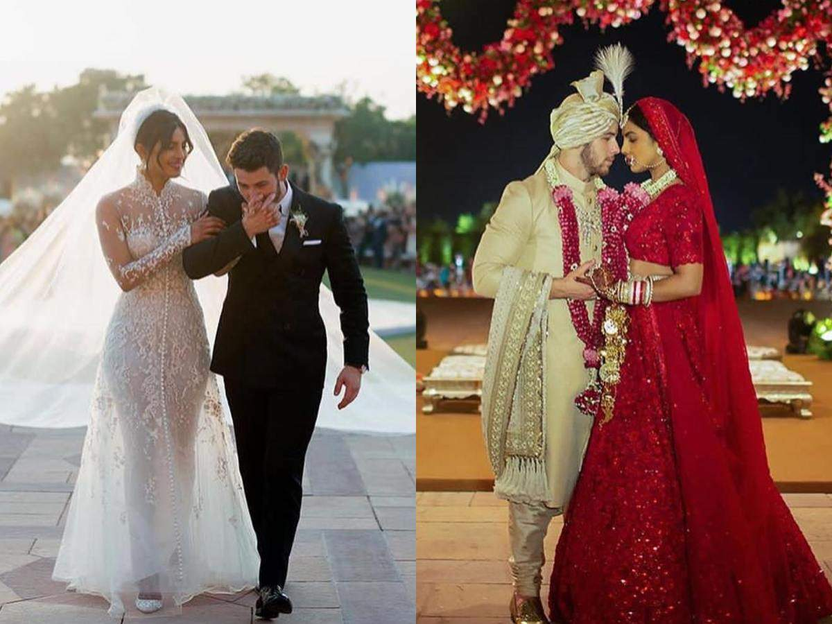 Image result for priyanka and Nick wedding