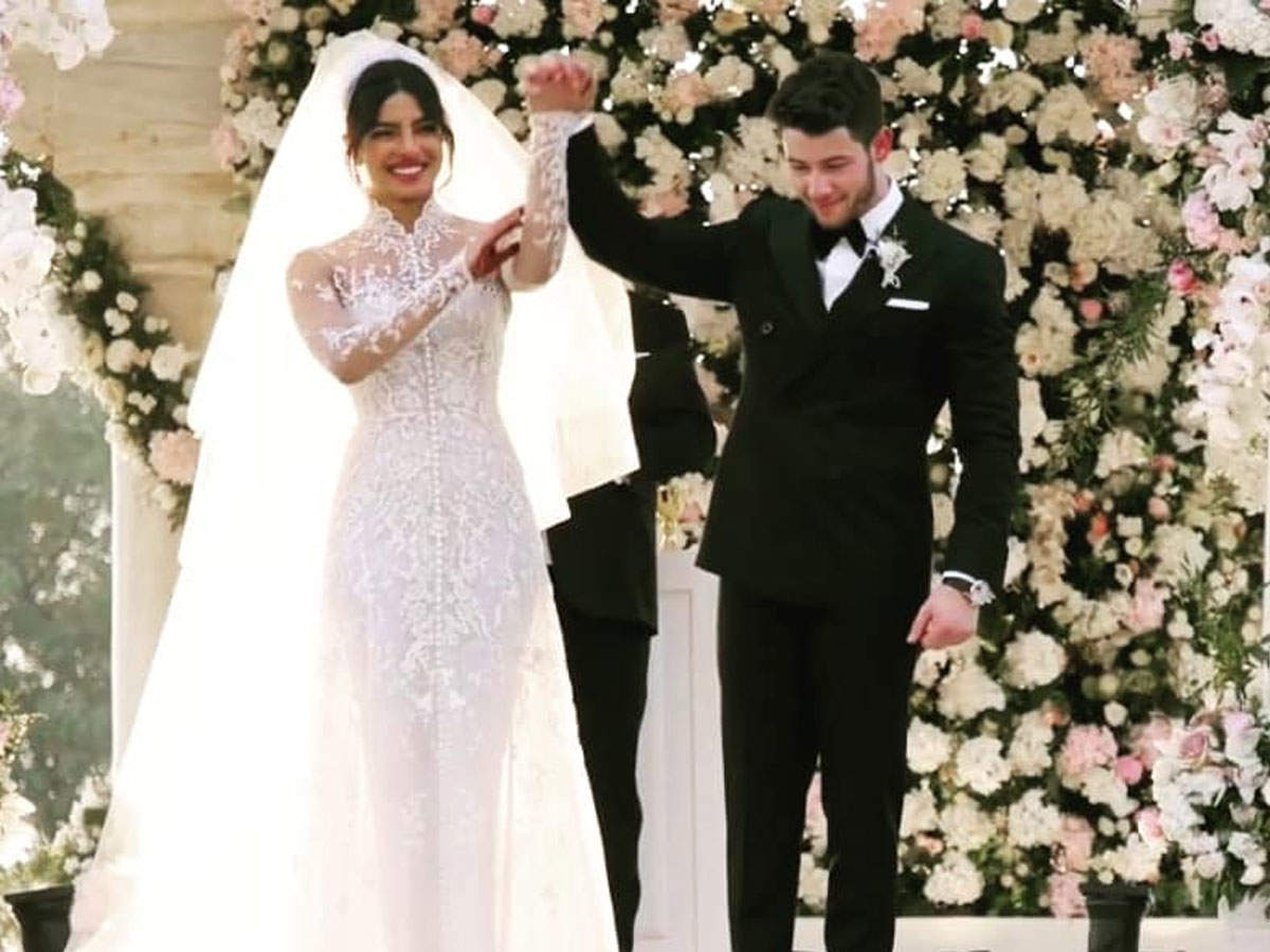Priyanka Chopra Wedding Gown Photos These Significant Words And