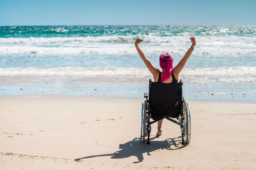 Alappuzha Beach becomes the first differently-abled friendly beach in South India
