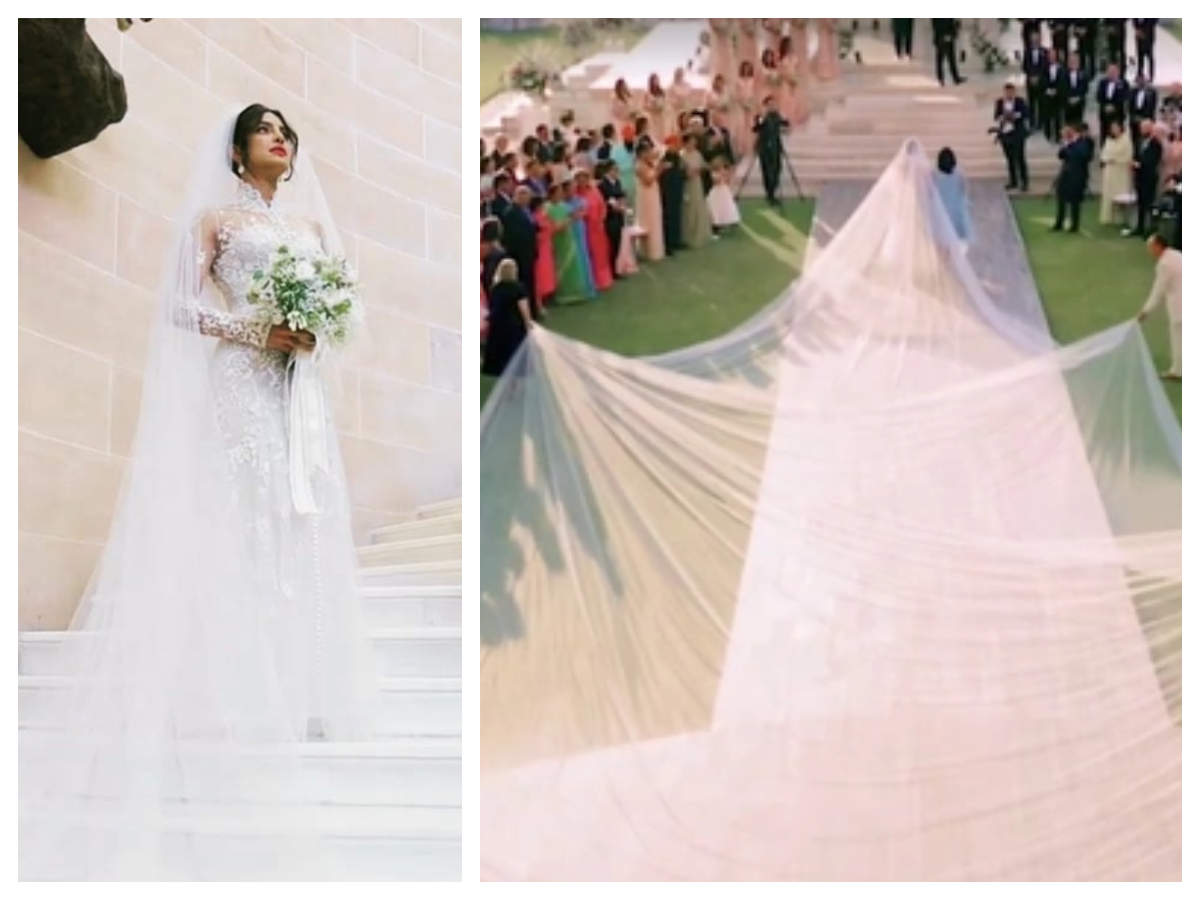 Priyanka Chopra opens up about her gorgeous white bridal gown ...