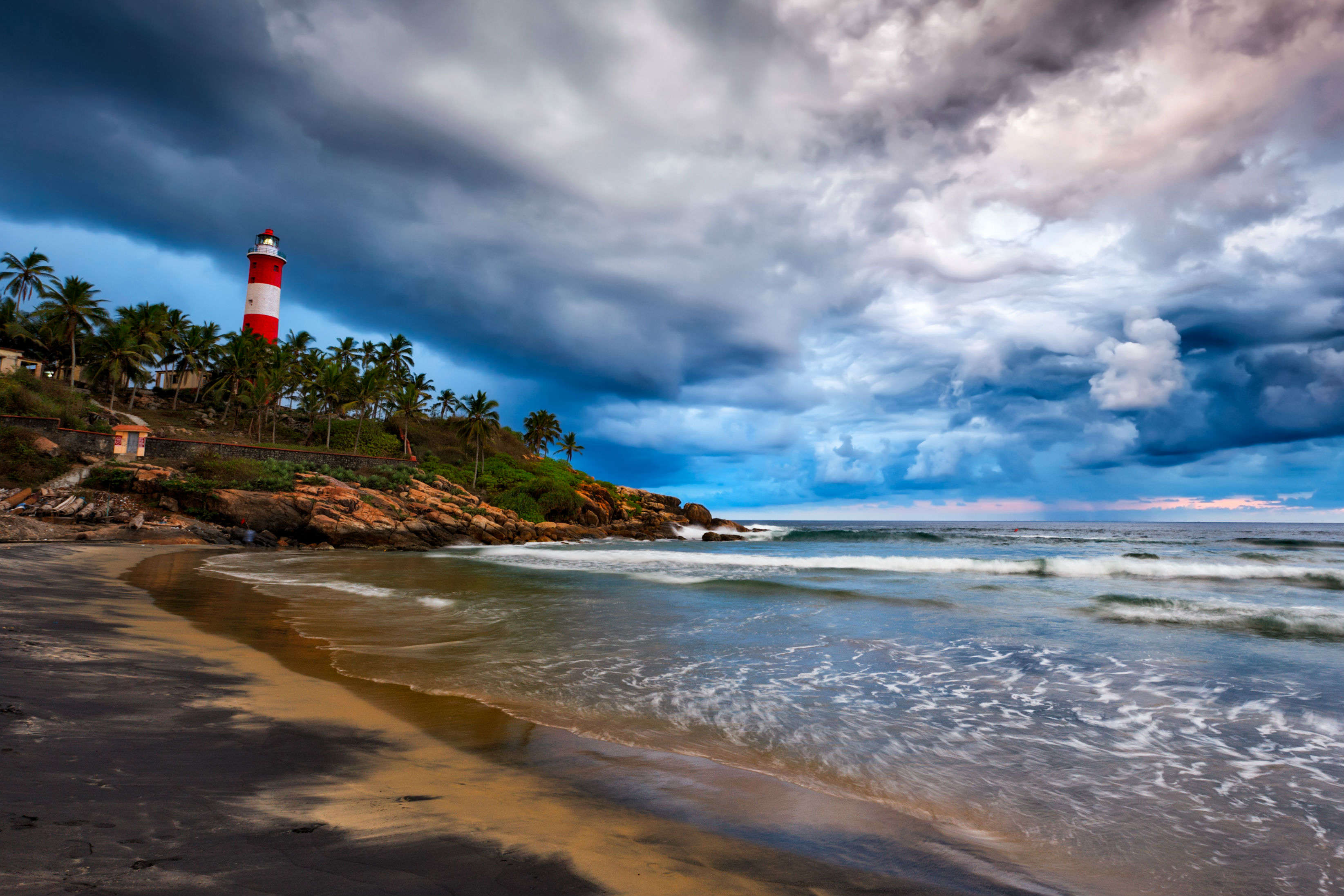 Hotels in Kerala Kovalam beach