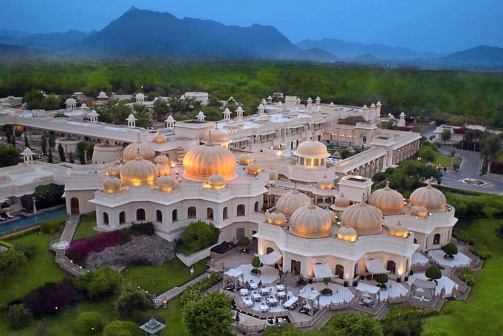 A palace of dreams – Isha Ambani's pre-wedding venue – The Oberoi Udaivilas Hotel