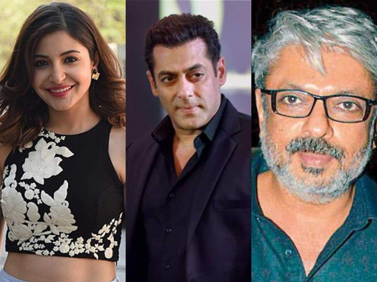Image result for anushka sharma and sanjay leela bhansali