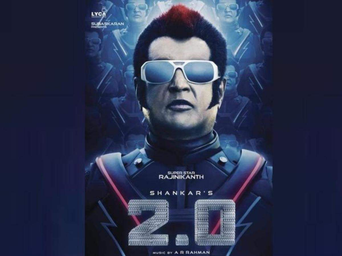 box office collection of 2 0 in hindi