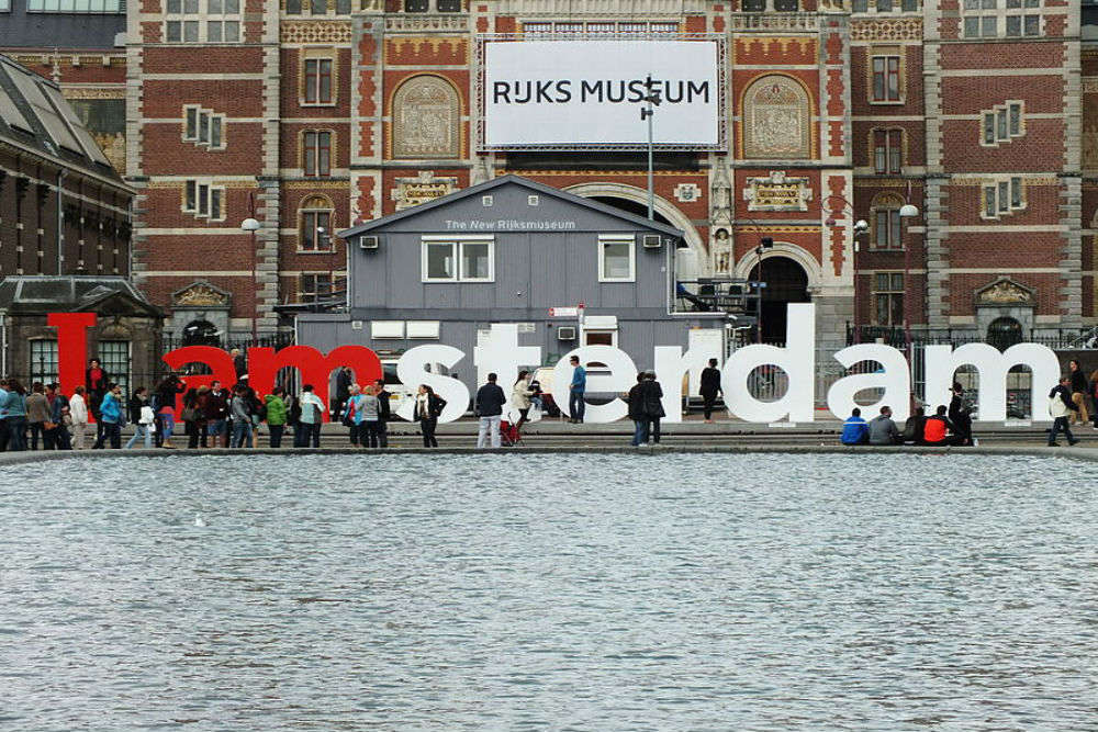 Amsterdam's iconic 'I Amsterdam' sign removed fearing 'mass tourism'