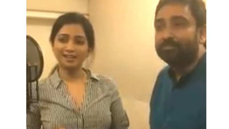 M Jayachandran offers a glimpse into the recording of Shreya Ghoshal's song  for 'Odiyan'