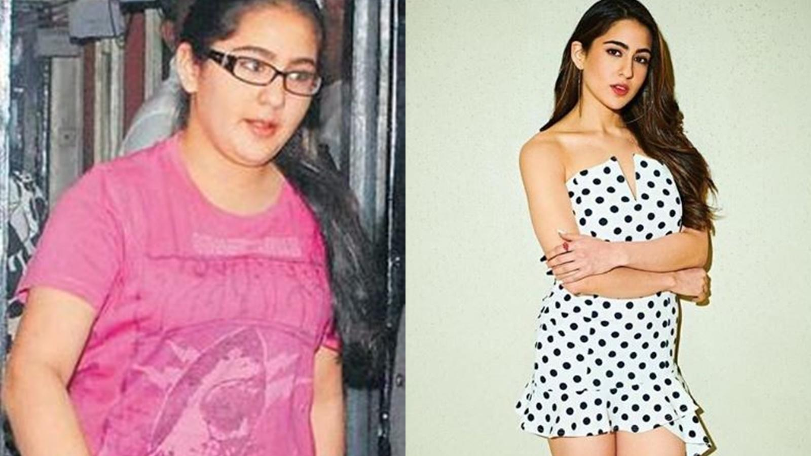 Sara Ali Khan's incredible transformation from fat to fit