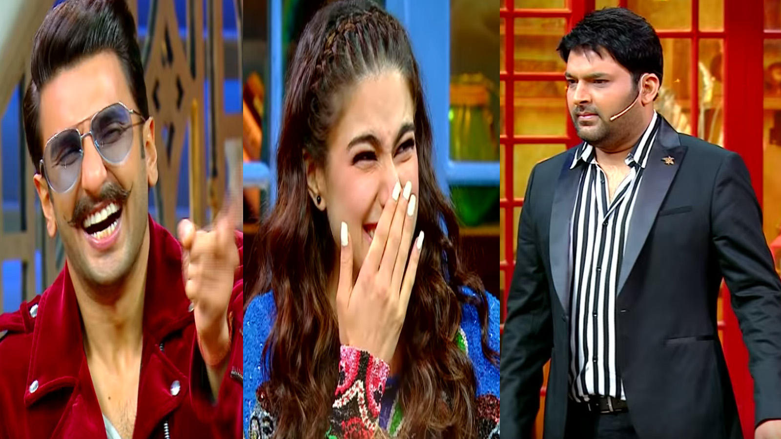 'The Kapil Sharma Show' first episode teaser: 'Simmba' stars Ranveer Singh  and Sara Ali Khan can't stop laughing