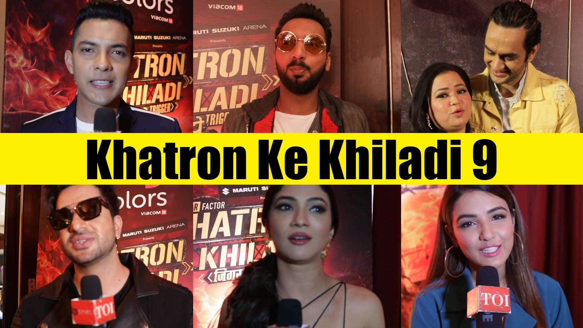 Bharti Singh, Vikas Gupta, Jasmine Bhasin and others talk about Khatron Ke  Khiladi 9