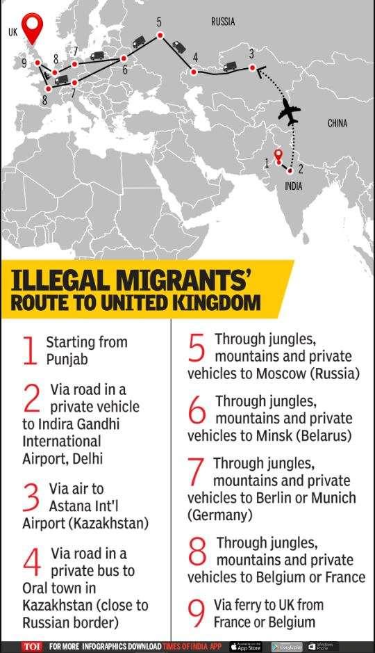 London-bound Punjabi boys stuck in Germany's sleepy town