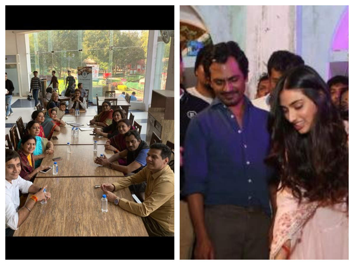 Motichoor Chaknachoor It Is A Wrap For The Nawazuddin Siddiqui And Athiya Shetty Starrer In Bhopal Hindi Movie News Times Of India
