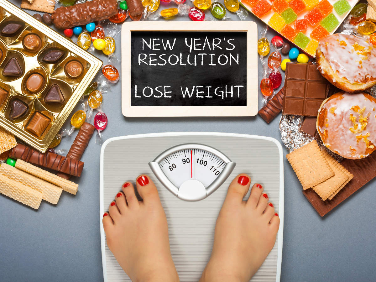 realistic new years resolutions diet weight