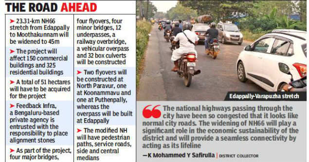 Work on widening of NH-66 stretch set to start 30 years