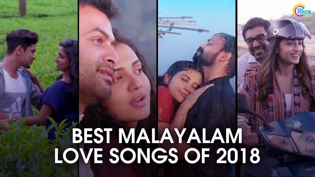 Romantic Bests Of 2018 | Top Malayalam Love Songs | Video Songs Jukebox