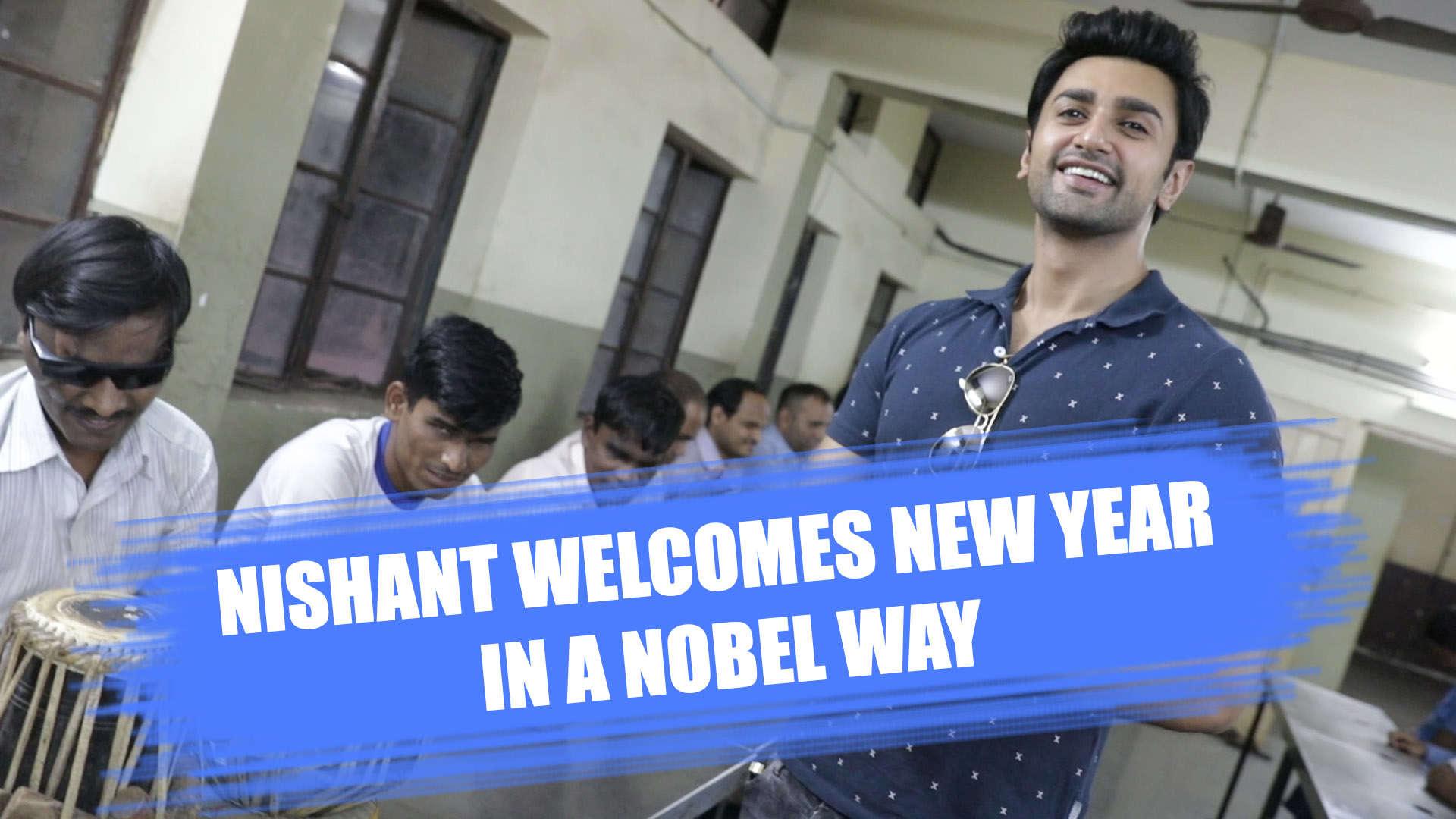 Guddan Tumse Na Ho Payega's Nishant Malkani celebrates New Year in the best  way