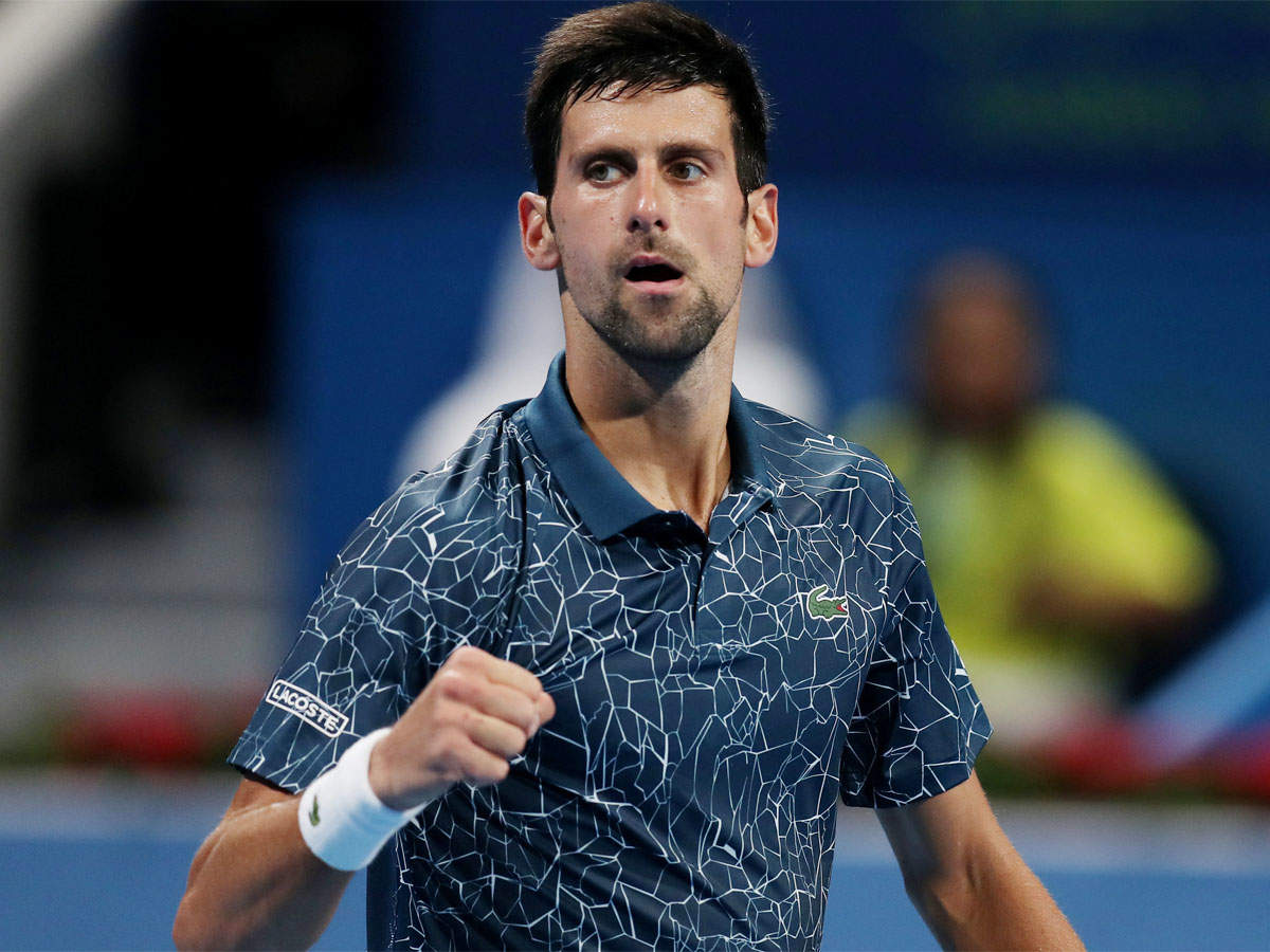 Novak Djokovic Survives Marton Fucsovics Test Tennis News Times Of India