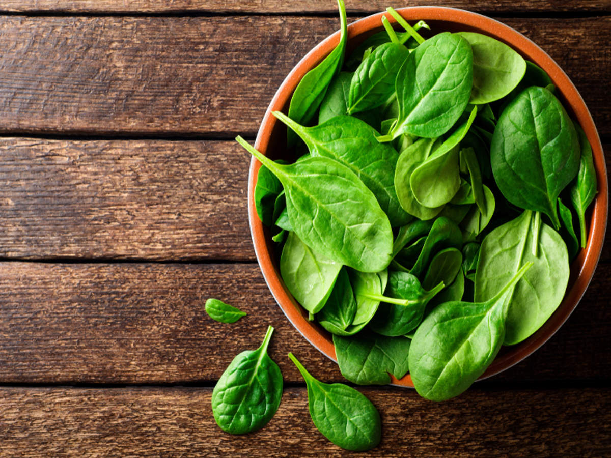 Miraculous health benefits of spinach - Times of India